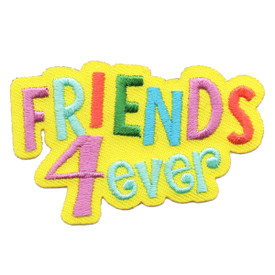S-6415 FRIENDS 4EVER PATCH