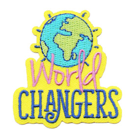 S-6418 WORLD CHANGERS PATCH