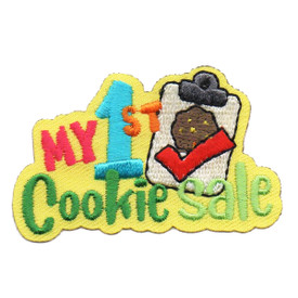 S-6445 My 1st Cookie Sale Patch