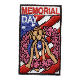 S-0690 Memorial Day Patch