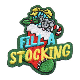 S-6466 Fill a Stocking Patch