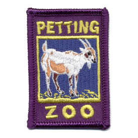 S-0694 Petting Zoo - Goat Patch