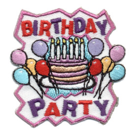 S-0700 Birthday Party Patch