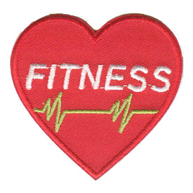 S-0704 Fitness - Heart Shape Patch