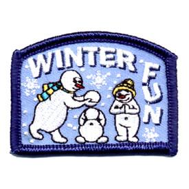 S-0707 Winter Fun (Snow People) Patch