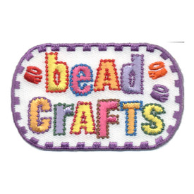 S-0717 Bead Crafts Patch