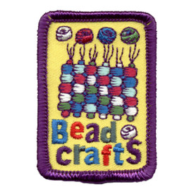 S-0719 Bead Crafts Patch