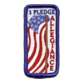 S-0721 I Pledge Allegiance Patch