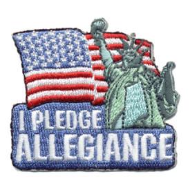 S-0723 I Pledge Allegiance Patch
