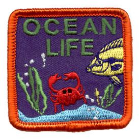 S-0731 Ocean Life Patch