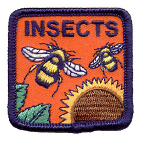 S-0732 Insects Patch