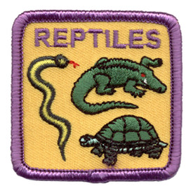 S-0734 Reptiles Patch