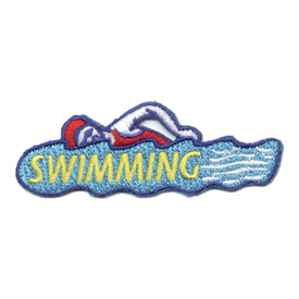 S-0754 Swimming Patch