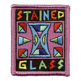 S-0756 Stained Glass Patch