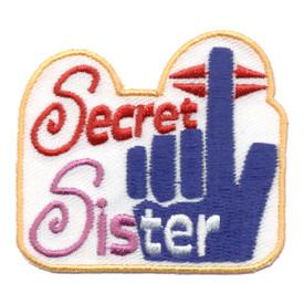 S-0764 Secret Sister Patch