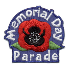 S-0765 Memorial Day Parade Patch