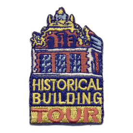 S-0767 Historical Building Tour Patch