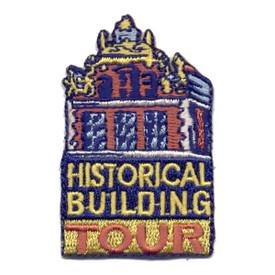 S-0767 Historical Building Tour Patch