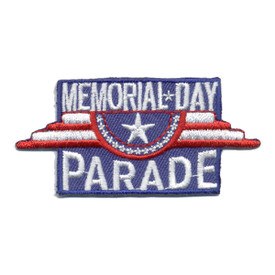 S-0768 Memorial Day Parade Patch