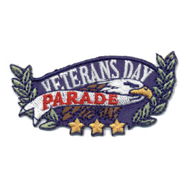 S-0770 Veterans Day Parade Patch