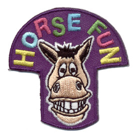 S-0777 Horse Fun Patch