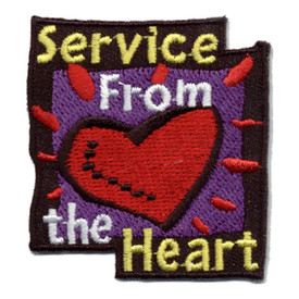 S-0778 Service From The Heart Patch