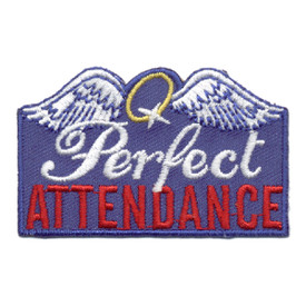 S-0780 Perfect Attendance Patch