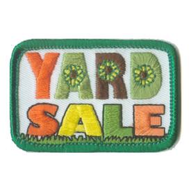 S-0781 Yard Sale Patch