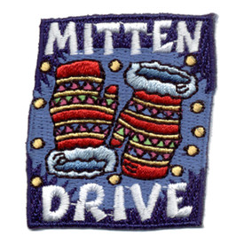 S-0788 Mitten Drive Patch