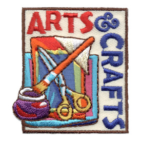 S-0792 Arts & Crafts (Scissors) Patch