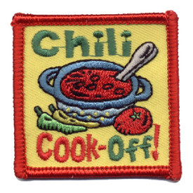 S-0796 Chili Cook-Off Patch