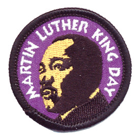 S-0799 Martin Luther King Day Patch