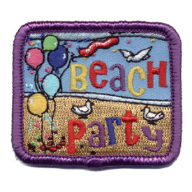 S-0800 Beach Party Patch
