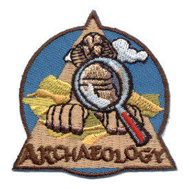S-0807 Archaeology Patch