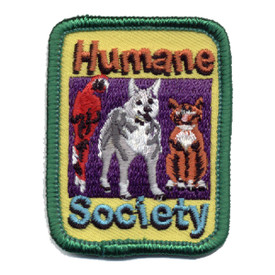 S-0815 Humane Society Patch