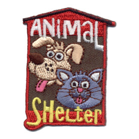 S-0816 Animal Shelter Patch