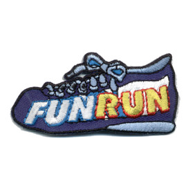 S-0827 Fun Run - Blue Shoe Patch