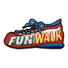 S-0828 Fun Walk - Red Shoe Patch