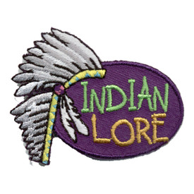 S-0829 Indian Lore - Headdress Patch