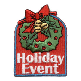S-0831 Holiday Event Patch
