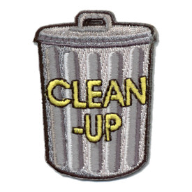 S-0842 Clean-Up (Garbage Can) Patch