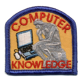 S-0843 Computer Knowledge Patch