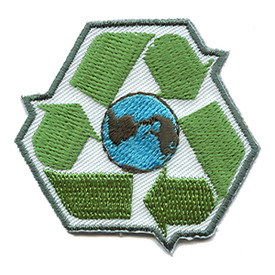 S-0844 Recycle (Symbol) Patch