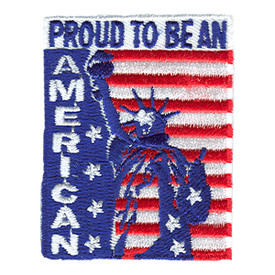 S-0845 Proud To Be An American Patch