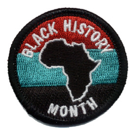 S-0852 Black History Month Patch