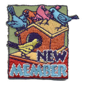 S-0854 New Member Patch