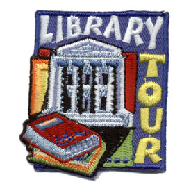 S-0867 Library Tour Patch
