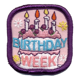 S-0869 Birthday Week Patch
