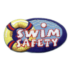 S-0872 Swim Safety Patch