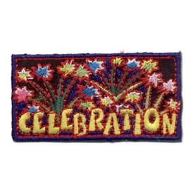 S-0873 Celebration - Fireworks Patch